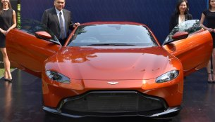 Aston Martin Vantage launched in India at INR 2.86 crore