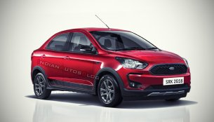 Ford Aspire 'Freestyle' - IAB Rendering