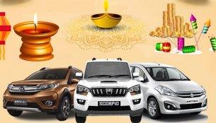 Diwali 2018 Car Discounts (Part 2/2) - Mahindra Scorpio to Maruti Ertiga