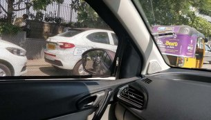 Tata Tigor EV with commercial registration spied in Hyderabad