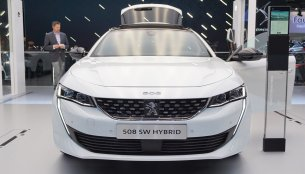 Peugeot 508 SW Hybrid - Motorshow Focus