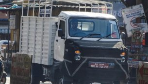 Possible next-gen Force Trump LCV spotted on test