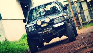 Modified Tata Sierra from Kerala looks off road-ready