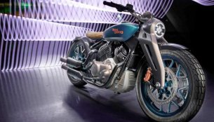 Royal Enfield Concept KX Bobber V-Twin official video released