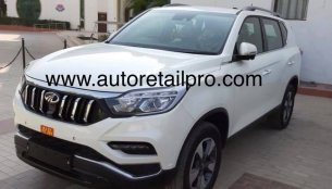 Mahindra Alturas G4 exterior & interior exposed ahead of launch this month