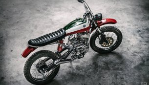 Custom Yamaha RX100 modified into a scrambler - 10 live images
