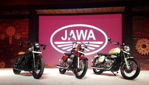 Listen to the exhaust note of four-stroke Jawa Forty Two [Video]