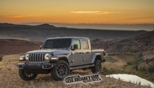 Jeep Gladiator pickup images & specs leaked online