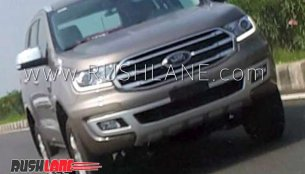 2019 Ford Endeavour (facelift) spotted on test for the first time