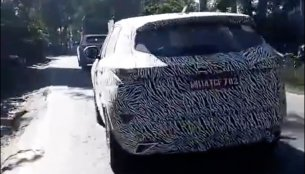Tata Harrier en route to Haridwar captured on cam [Video]