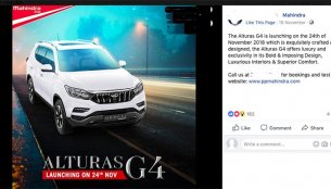 Dealership-level promotions kick-off for the Mahindra Alturas