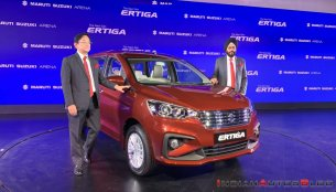 2018 Maruti Ertiga launched, Prices start at INR 7.44 lakh [Update]