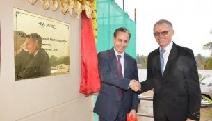 Groupe PSA and AVTEC inaugurate powertrain plant in India