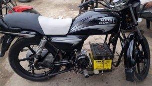 Hero Splendor+ goes green with an electric motor