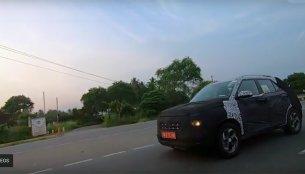 Hyundai Styx (Vitara Brezza-rival) spied high-speed testing [Video]