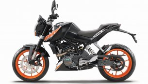 KTM 200 Duke ABS launched in India at INR 1.60 lakh