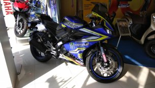 Customised Yamaha R15 V3.0 with graphics kit - 8 Live images