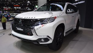Mitsubishi Pajero Sport Elite Edition at 2018 Thai Motor Expo - Live