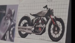 A look at the Royal Enfield KX Concept's history, & a glimpse into the future [Video]