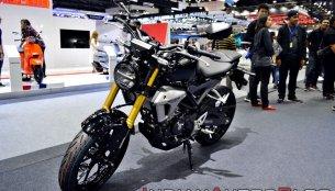 Honda CB150R ExMotion displayed at Thai Motor Expo - Live