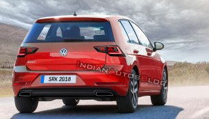 Next-gen 2019 VW Golf imagined - IAB Rendering