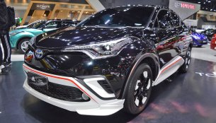 Toyota C-HR x Adidas at 2018 Thai Motor Expo - Live