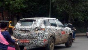 IAB reader spots a heavily camouflaged Tata Harrier test mule in Pune
