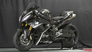 Check out the completed BMW G310 RR prototype, christened G310 SS