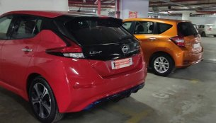 Nissan Leaf & Nissan Note e-Power spied in Kerala