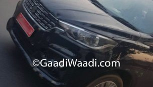 Alleged Maruti Ertiga 1.5 diesel with 6-speed MT spotted on test