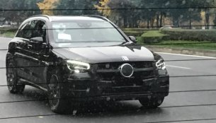 2019 Mercedes GLC (facelift) spied on test in China