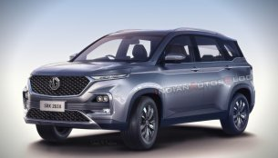 MG 'Gloster' SUV - IAB Rendering