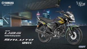 Yamaha Saluto RX & Saluto 125 Unified Braking System variants launched in India