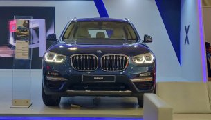 BMW X3 showcased at the Autocar Performance Show 2018