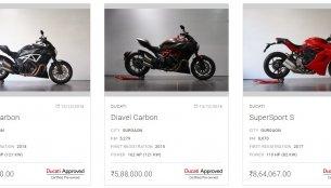 Ducati enters pre-owned bike segment in India