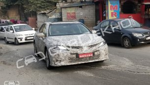 Eighth-gen Toyota Camry spotted again in India, could launch in early 2019
