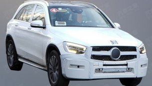 2019 Mercedes GLC (facelift) spotted in China