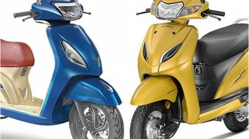 TVS Jupiter Grande vs Honda Activa 5G - Price, Features & Spec comparison