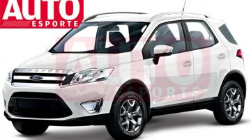 Rendering - 2012 Ford EcoSport makes sense in India?