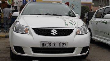 Maruti SX4 Hybrid at the 2012 Auto Expo