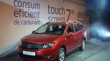 Dacia Logan MCV launched in Romania, bookings open today