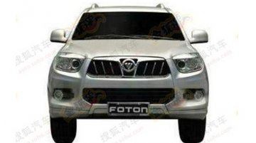 Foton Tunland based SUV gets patented in China