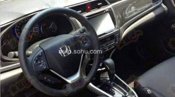 Spied in China - Honda Crider's interior revealed