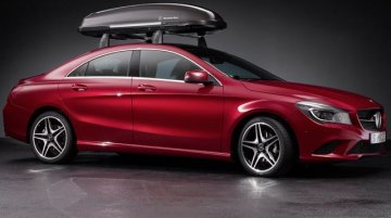 Mercedes CLA genuine accessories revealed