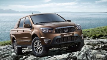 Ssangyong Actyon Sports gets updated in Korea