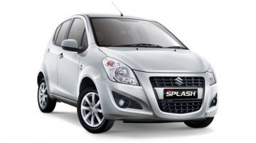 2013 Suzuki Splash (Ritz) launched in Indonesia with AT