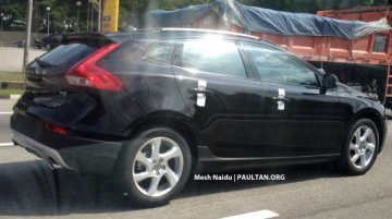Spied - Just like India, Volvo V40 Cross Country to be launched in Malaysia soon