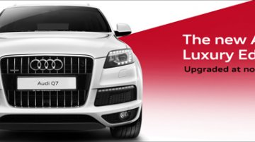 Audi Q7 Luxury Edition launched in Malayasia