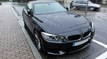 Spied - BMW 4 Series Coupe caught uncamouflaged