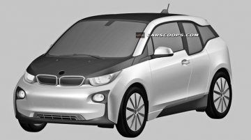 Production BMW i3 revealed through patent drawings